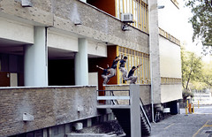 Daer Sánchez [ Precision jump 'secuencial'] (Josefo Robledo) Tags: red urban art sports canon mexico flow jump arte extreme free running bull 7d freerunning runners salto redbull daer parkour deportes urbanfreeflow extremos secuencial