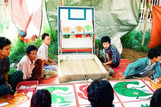 Burmese casino.......classic gambling