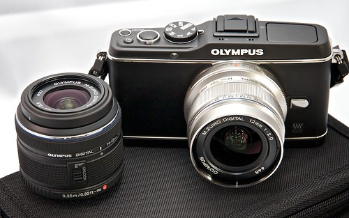 Olympus E-P3 with 12mm & Kit Lens