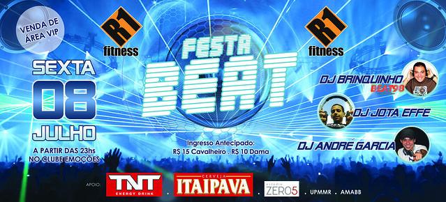 Banner Festa BEAT da Academia R1