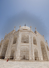 Taj Mahal Perspective