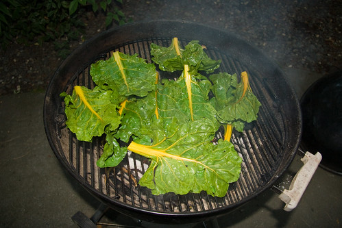 Chard on the Grill