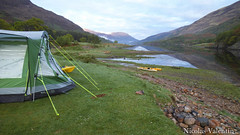 We camped (Nicolas Valentin) Tags: camping light sea camp sky nature clouds landscape scotland scenery alba cam scenic adventure loch leven naturesfinest aplusphoto