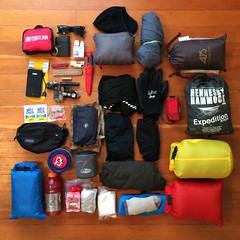 Bencountry 9 Loadout (joeball) Tags: camping bike ben country may son dungeness olympic campground forks peninsula iphone bencountry bc9 iphone5s bencountry9