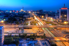 DSC_0778_79_80_tonemapped (龙颜大悦) Tags: china bridge beijing 北京 中国 hdr photomatix nikond90 莲花桥 tokinaaf1228mmf4