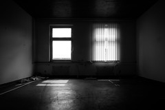 out of focus (Zesk MF) Tags: light urban white black abandoned window station dark out lost focus room police trier urbex