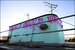 Horror BC (Alex Ellison) Tags: urban rooftop graffiti bc tag horror graff eastlondon burningcandy