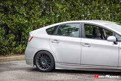 "Toyota Prius with Enkei RS05RR • <a style=""font-size:0.8em;"" href=""http://www.flickr.com/photos/64399356@N08/14272478493/"" target=""_blank"">View on Flickr</a>"