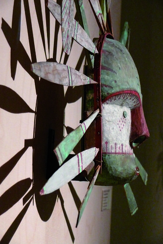Masque Alaska - Musée Boulogne-sur-Mer
