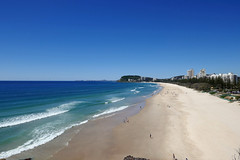 Whale watching this morning from Nobby's Beach, lots of whales but too far away to photograph. (nzboyinoz) Tags: 2016 justin panasonic lumix dmctz110 goldcoastaustralia sun beach goldcoast queensland nobby