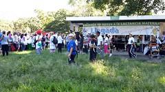 Despus de la caminata dieron charlas para subrayar la importancia de la lactancia materna (bancos de leche materna) Tags: caminata lactancia materna leche semana mundial parque del este caracas