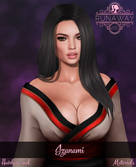 [RA] Izanami (Candela Kira) Tags: secondlife sl mesh meshhair we3rp weloverp weloveroleplay 3d roleplay runaway ra art hud virtuel object anime hair hairstyle haircolor game gamecontent design fantasy