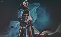 Hika~Oriental (Skip Staheli (Clientlist closed)) Tags: skipstaheli secondlife sl avatar virtualworld dreamy digitalpainting fantasy oriental asian fashion hikaruenimo veil