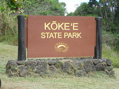 Kokee State Park Sign (jimmywayne) Tags: hawaii kauaicounty kauai kokee statepark pacific lookout kalalau