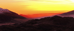 Light of the Valley (Ray Majrowski Thanks for 500,000 1/2 million views) Tags: snowdonia mountain peak sunrise sunset valley crag landscape skyscape scape wales canon 7d 1585 sky glow