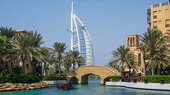 Burj al Arab (|-|) Tags: dubai soukmadinatjumeirah soukmadinat madinat jumeirah souk burjalarab boatride boat uae sonyalpha6000
