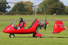 G-JUGS (QSY on-route) Tags: gjugs rotorsport uk gyro autogyro gyrocopter fly in 2016 wolverhampton halfpenny green egbo 02102016