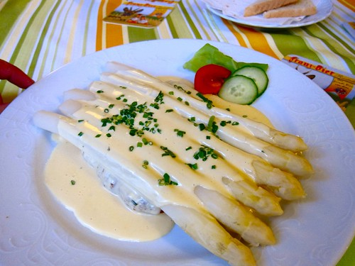 Spargel + schnitzel