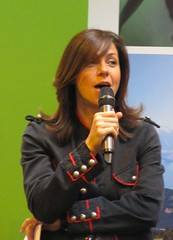 Julia Bradbury at 'Gardener's World (janet7r) Tags: blog birmingham nec juliabradbury gardenersworldshow