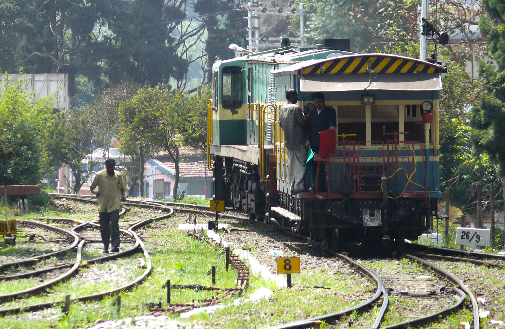 railway tracks at Connoor