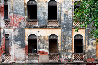 Abandoned Building in Phnom Penh