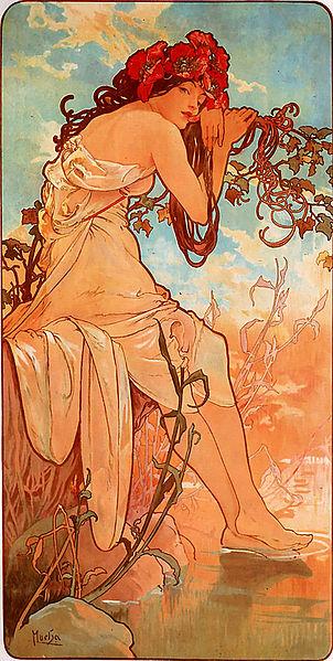 302px-Alfons_Mucha_-_1896_-_Summer