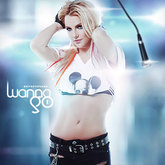 Britney Spears - I Wanna Go Cover (Benikari47) Tags: world me against video graphic spears femme go sm it cover till britney wanna hold ends the i fatele benikari47