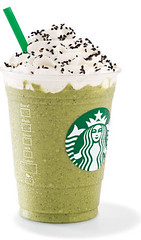 Black Sesame Green Tea Cream Frappuccino