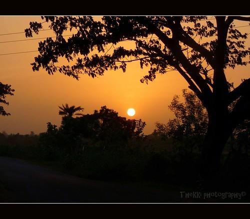 Seethambaalpuram_Sunset