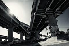 (Lioskatephoto) Tags: summer usa color bay highway san francisco skateboarding under ollie area skateboard brigde