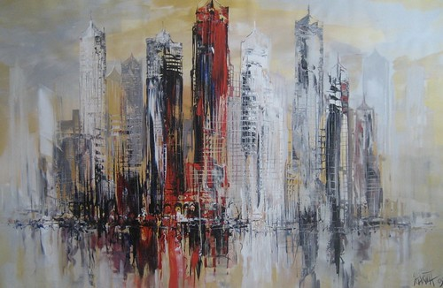 New York City - Painting - Impressionism
