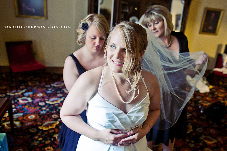 Unity Temple Plaza Kansas City wedding photographs