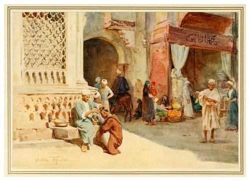 013- El peluquero-An artist in Egypt (1912)-Walter Tyndale