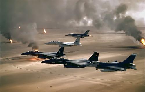 Атака авиации НАТО Ирака