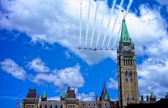 Happy Canada Day (Perry McKenna) Tags: ottawa parliament canadaday flyover snowbird day182 nationalanthem 1171 july1 300000people day182365 3652011 365the2011edition princewilliamandkate dukeandduchesseofcambridge