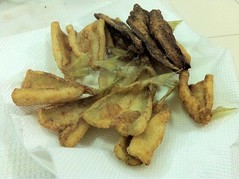 fried fish (Sillago)