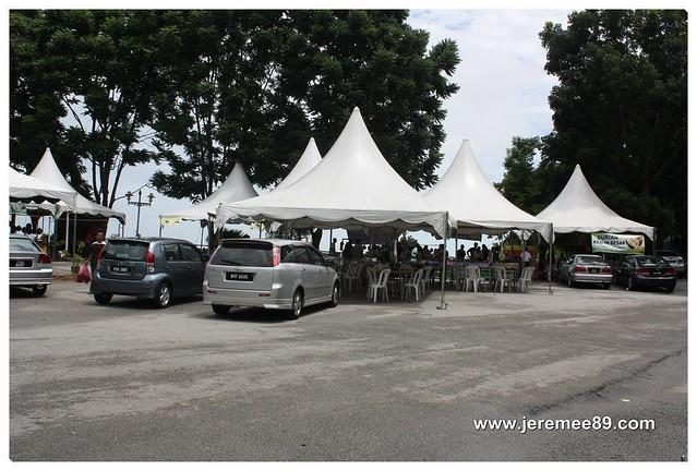 Pesta Durian @ Balik Pulau - Huge Parking Area