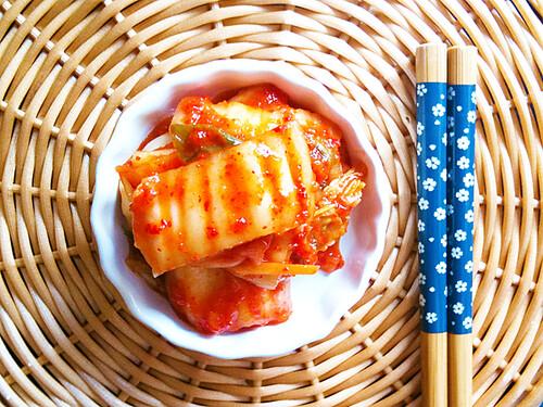 Homemade Mak-Kimchi