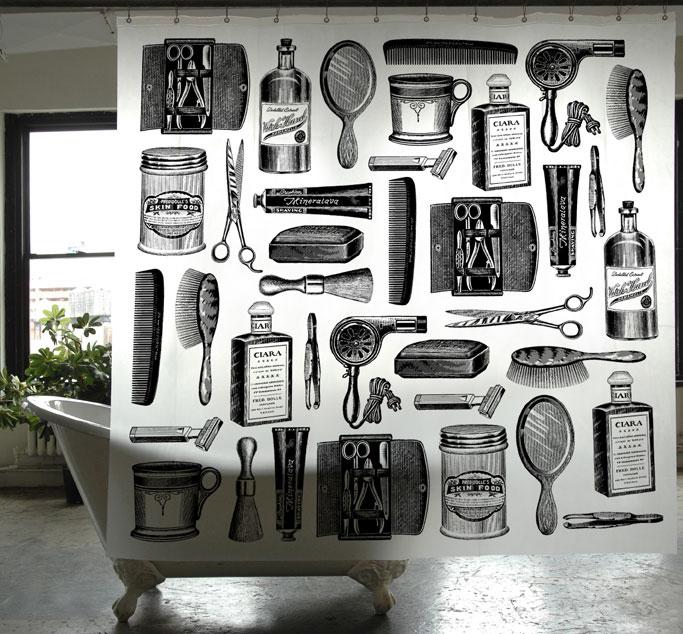Izola Apothecary Shower Curtain