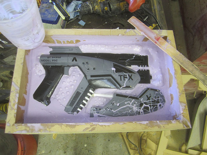 M-3 Pistol Mold Second Half2463