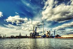 Sky. Industry. Water