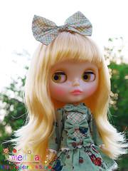 น้องยู่ยี่เปลี่ยนผมใหม่อีกละ อิอิ (medsray) Tags: girl doll rice sally blythe neo hybrid miss rbl