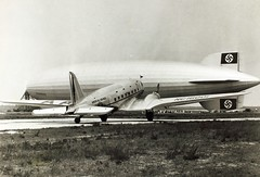 Douglas, DC-3 (San Diego Air & Space Museum Archives) Tags: airplane aircraft aviation zeppelin airship dac douglas airlines americanairlines dc3 hindenburg aa airliners dirigible c47 lighterthanair dst luftschiff douglasdc3 douglasc47 1495 douglasaircraft dzr dlz129 lz129 deutschezeppelinreederei douglasdst luftschiffbauzeppelin deutscheluftschiffahrtsaktiengesellschaft delag zeppelinlz129 lz129hindenburg luftschifflz129 cn1495 nc16001 4256097 douglasdst144 dst144