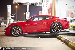 Red Porsche 911 New For Sale By Design Saudi Arabia (by-design) Tags: red forsale porsche saudiarabia 991