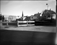 First One (RyanLebel) Tags: from new school this photo tank looking with ryan large taken first brunswick sheets fredericton doing more 4x5 hp5 format developed ilford forward borrowed sinar the jobo i lebel