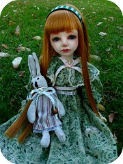 Mirtiruby (Purple  Enma) Tags: park espaa up grass ball spain doll dolls meeting super pd andalucia cordoba bjd resin dollfie meet riz mueca msd mirta isy jointed mombi planetdoll