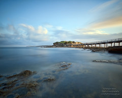 Bare Island at Sunset (Malcolm Katon) Tags: longexposure seascape island bare sydney bigstopper