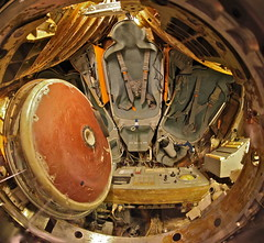 Soyuz Descent Module (jurvetson) Tags: cold war space descent capsule center sleepover ussr overnight chabot soyuz russain 7kok