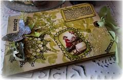 postcard journal (littlethings1) Tags: art altered journal postcards