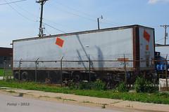 Ex-MILW Trailer at Fairfax, KS (Mo-Pump) Tags: railroad train locomotive railfan railroader